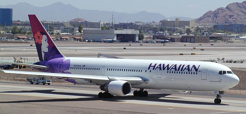 & Hawaiian Boeing 767-300 pezcame.com