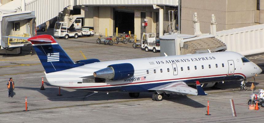 Us Airways Crj 700 Landing 23r Philadelphia Intl Fsx 1080hd