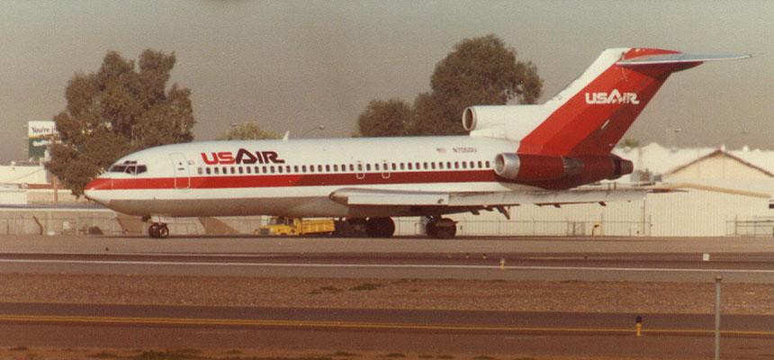 US Air / Boeing 727-100 / N7050U / January 1982