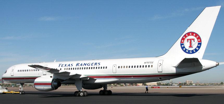 Texas Rangers-Dallas Stars 757-200